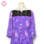 Night Trip Chiffon Dress