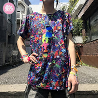 【SALE】Neon Spectrum Big Tee