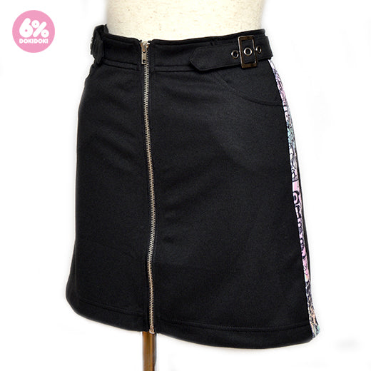Kon Ton Line Zip Skirt