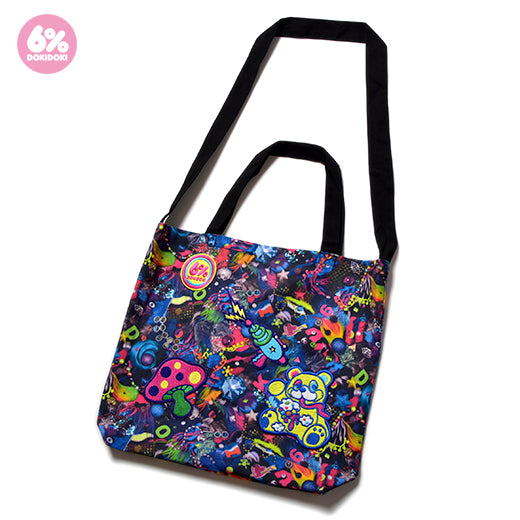 Neon Spectrum Patch 2-Way Shoulder Bag