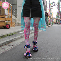 Girls Daydream All-Over Print Tights