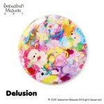 Sebastian Masuda Colorful Rebellion Seventh Nightmare Badge Collection