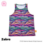 Colorful Rebellion Animal Tank Top