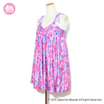 Colorful Rebellion/Animal Babydoll Dress