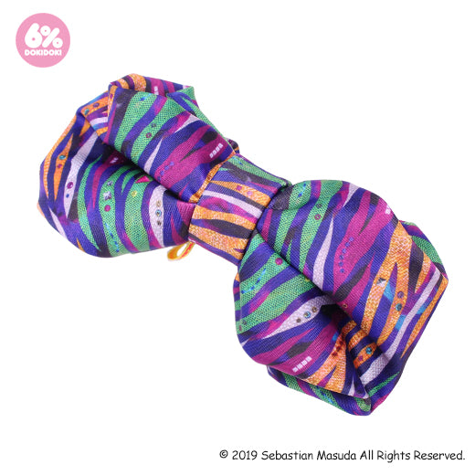 Colorful Rebellion/Animal 2-Way Super Big Ribbon Clip & Brooch