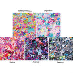 Colorful Rebellion Origami Paper