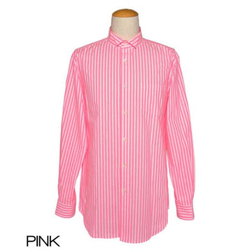 【SALE】6-D/Stripe back tuck stripe shirt