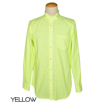 6-D/stripe back tuck stripe shirt