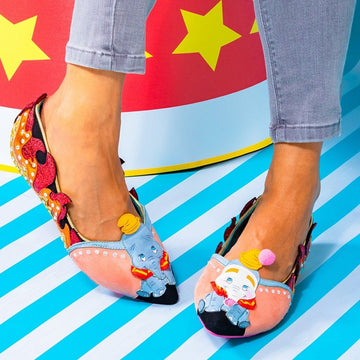DUMBO flats shoes By Irregular Choice