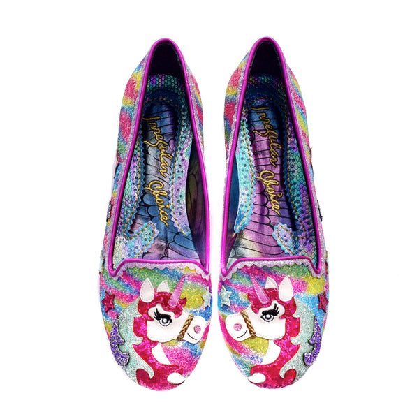 LOOSEN THE REIN flats shoes By Irregular Choice