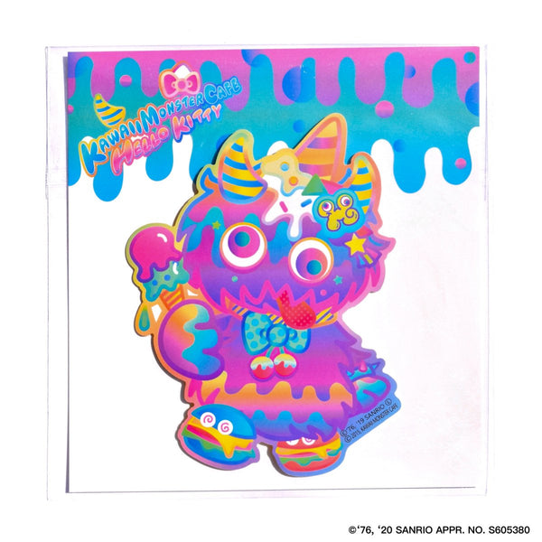 KMC×Hello Kitty character sticker set