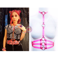 DEVILISH/PVC harness