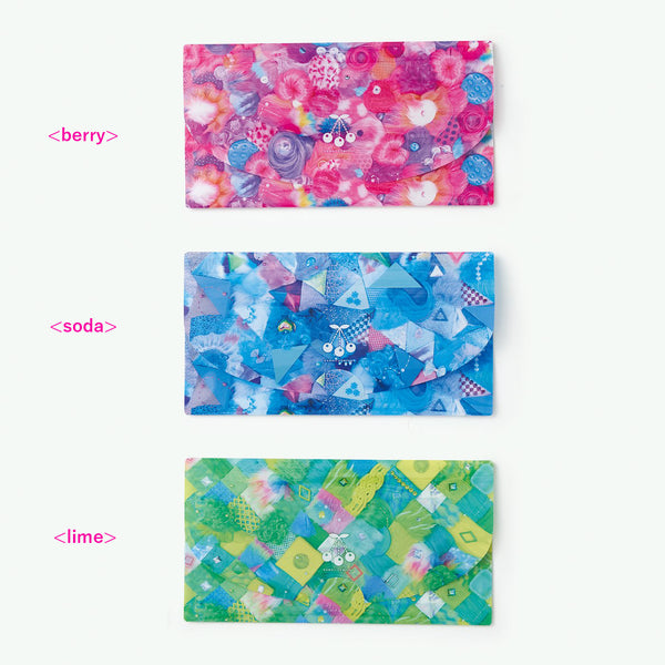 Antibacterial mask case set of 3 By KAWAII COMPANY