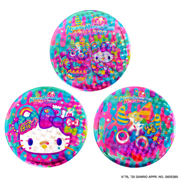 KMC×Hello Kitty collaboration badge