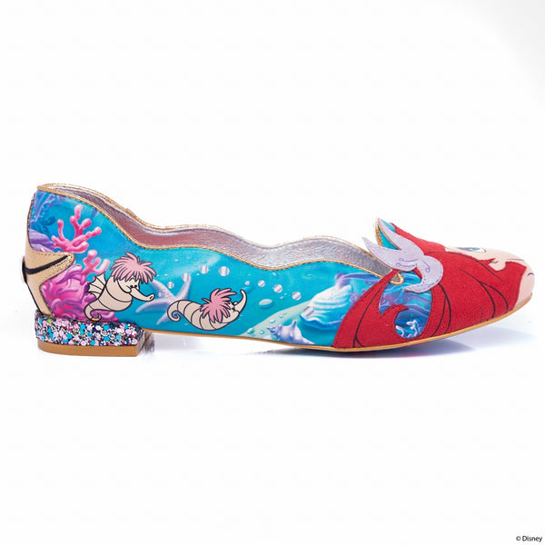 【SALE】Under The Sea flats shoes By Irregular Choice