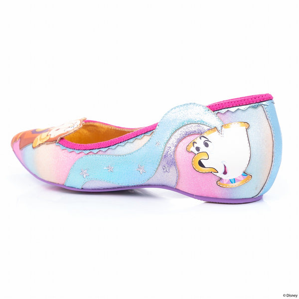 Be Our Guest flats shoes By Irregular Choice