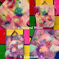 Faux Fur Customized Series Bag -How to make 6%DOKIDOKI-