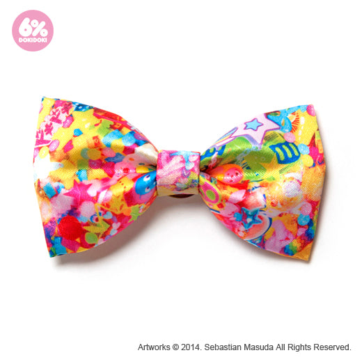 Colorful Rebellion Big Ribbon Clip & Brooch
