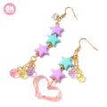 Romantic☆Night pierced earrings