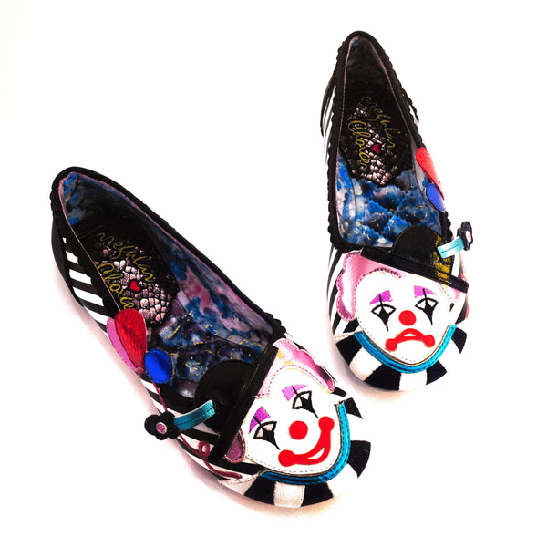 【SALE】Clowning Around Flats Shoes by Irregular Choice