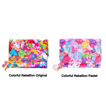 Colorful Rebellion Mini Wallet