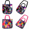 Faux Fur Customized Series Bag -Neon Spectrum ver.2-