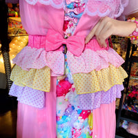 Pastel Dream Frilly Belt