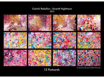 Colorful Rebellion Seventh Nightmare- Postcard Set