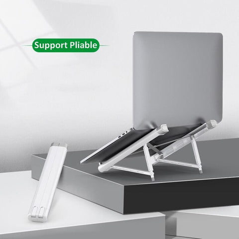 Support Ergonomique Ordinateur Pliable - ErgoNomade