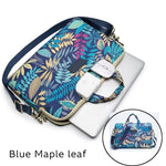 Sac a Ordinateur Femme - Blue Maple Leaf