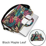 Sacoche pour PC - Black Maple Leaf