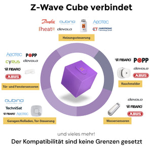 homee Z-Wave Cube