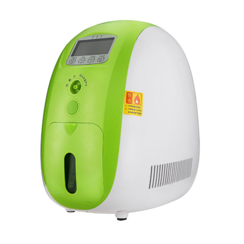 Portable O2 generator, Full Intelligent Home Oxygen Concentrator Generator, Air Purifier Oxygen Generator Work Compact Silent