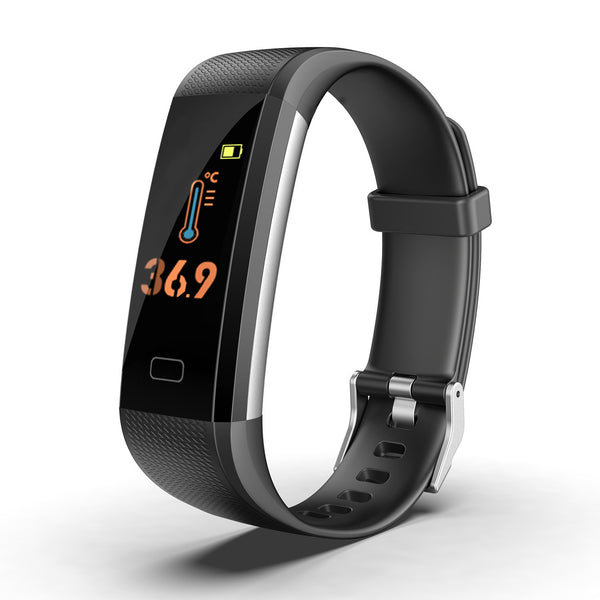 Fitness Tracker HR with Blood Pressure Heart Rate Monitor, Pedometer, Sleep Monitor, Calorie Counter, Vibrating Alarm, Clock IP68 Waterproof