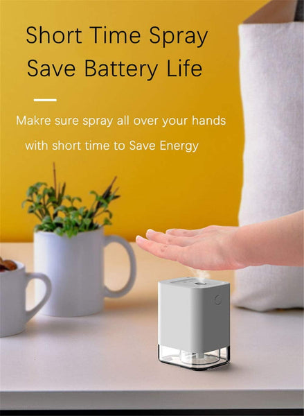 Mini Portable Automatic Induction Sprayer Touchless Hand Infrared Built-in Battery Humidifier Dispenser Wireless Sprayer