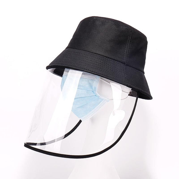 Anti-UV Removable Shields Bucket Hat Anti-Pollution Hat