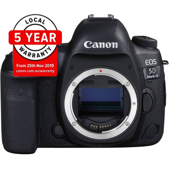 Canon EOS 5D Mark IV with 24-70mm f/2.8L II USM Digital | cameraclix