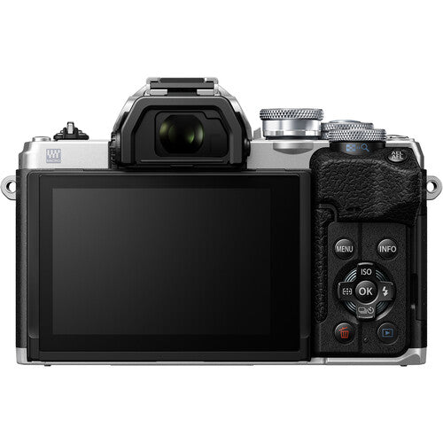 Olympus OM-D EM10 Mark IV Silver Body Only