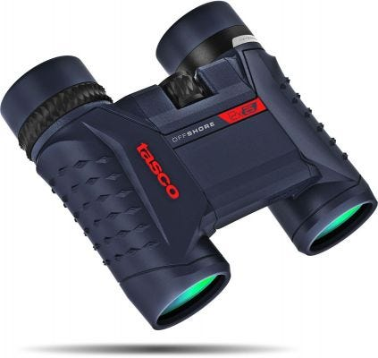 Tasco Offshore 12x25 Waterproof Compact Binocular - Blue