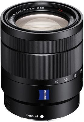 Sony Carl Zeiss E 16-70mm f/4 Black Zoom Lens