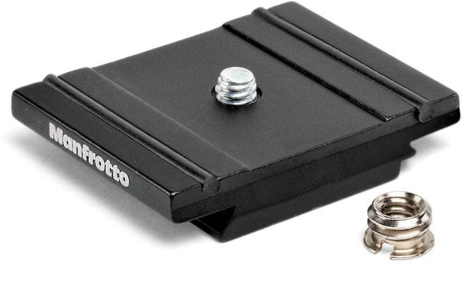 Manfrotto 200PL-Pro Quick Release Plate RC2 and Arca-Swiss compatible