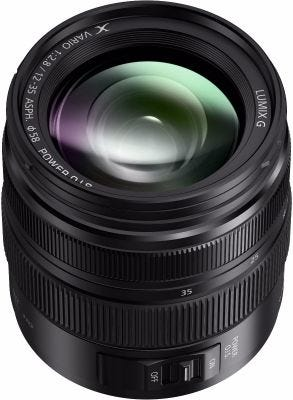 Panasonic Lumix G X Vario 12-35mm f/2.8 II ASPH Power OIS Lens