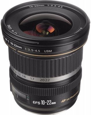 Canon EF-S 10-22mm f/3.5-4.5 USM Wide Angle Lens
