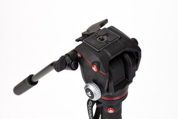 Manfrotto MVMXPROA42W 4 Section - XPro Video Monopod - Fluid Head & Fluidtech Base