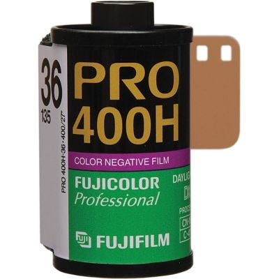 Fujifilm PRO 400 H 135/36 35mm Film - Colour Negative