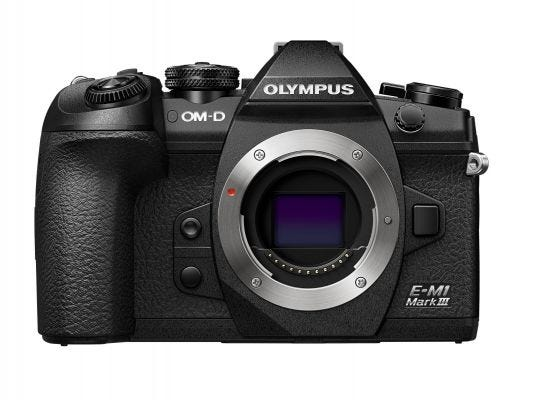 Olympus OM-D E-M1 Mark III Black Body Only Compact System Camera