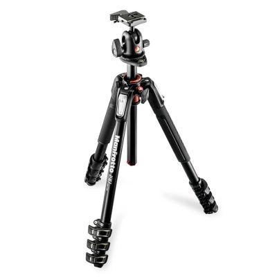 Manfrotto MK190XPRO4-BH 4 Section - Tripod Kit with Ball Head
