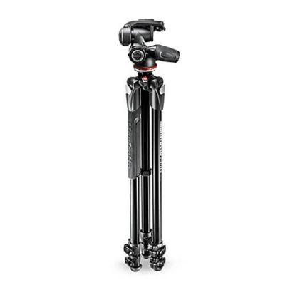 Manfrotto MK290XTA3-3W 3 Section - Tripod Kit with 3 Way Head