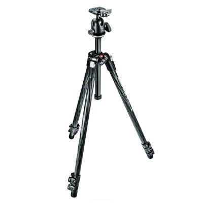 Manfrotto MK290XTC3-BH 3 Section - Carbon Tripod Kit with Ball Head