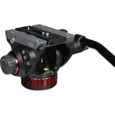 Manfrotto MVH502AH Pro Fluid Video Head with Flat Base